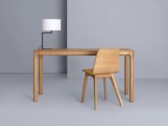 - Extending rectangular wooden table M11 DESK - ZEITRAUM