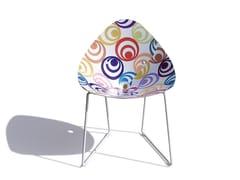 - Sled base chair PLISPLAS | Chair - calma