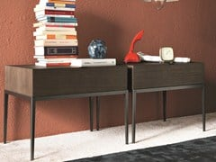 - Oak coffee table / bedside table KESSLER | Bedside table with drawers - MisuraEmme