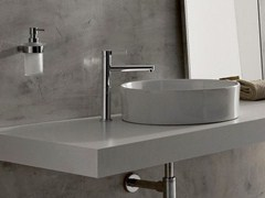 - Chrome-plated single handle washbasin mixer TERRA | Single handle washbasin mixer - Graff Europe West