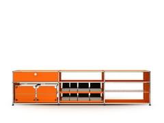 - Modular metal sideboard USM HALLER LOWBOARD | Modular sideboard - USM Modular Furniture