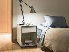 - Bedside table with drawer USM HALLER NIGHTSTAND | Bedside table - USM Modular Furniture