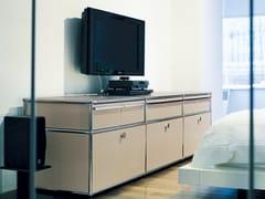 - Modern modular lacquered sideboard USM HALLER SIDEBOARD | Modular TV cabinet - USM Modular Furniture