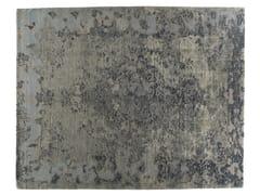 - Tappeto fatto a mano rettangolare in lana e seta FIRUZABAD ALUMINIO - Golran