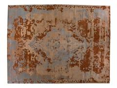 - Handmade rectangular rug TOPKAJ TERRACOTTA - Golran