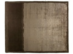 - Rectangular rug LIGHT BROWN - Golran