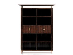 - Modular office shelving SC 3007/E - OAK Industria Arredamenti
