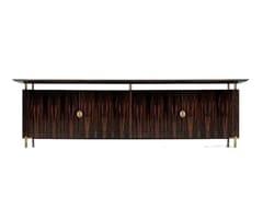 - Low wooden office storage unit SC 3005/E - OAK Industria Arredamenti