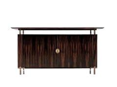 - Low wooden office storage unit SC 3006/E - OAK Industria Arredamenti