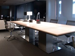 - Rectangular wooden meeting table MR 1.8 | Rectangular meeting table - JOSE MARTINEZ MEDINA