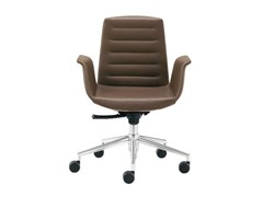 - Swivel easy chair with 5-spoke base MODÀ | Easy chair with 5-spoke base - Sesta