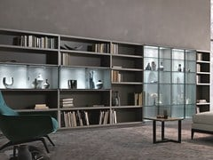 - Sectional lacquered storage wall CROSSING TEKA | Sectional storage wall - MisuraEmme