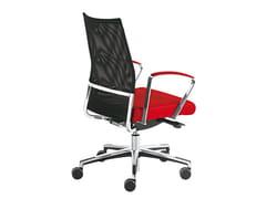 - High-back executive chair WIN-R RETE | High-back executive chair - Sesta