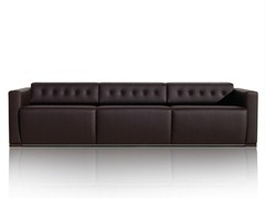 - 3 seater leather sofa WILLIAMS | Sofa - JOSE MARTINEZ MEDINA