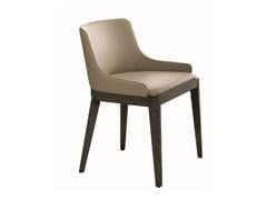 - Leather chair CLEÒ | Chair - MisuraEmme