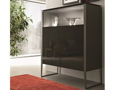 - Lacquered highboard with doors NIBBIO | Highboard - MisuraEmme