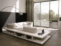 - Corner sectional leather sofa SITIN | Corner sofa - MisuraEmme