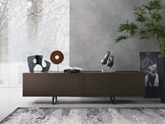 - Oak sideboard with sliding doors SQUARE | Oak sideboard - MisuraEmme