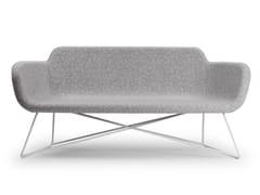 - 2 seater wool sofa SLIGHT   Wool sofa - True Design