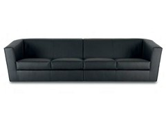 - Sectional 4 seater leather sofa HEBE | 4 seater sofa - True Design