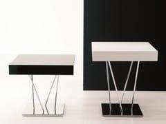 Tavolino basso laccato in legnoGINGER - BONTEMPI CASA
