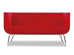 - 2 seater wool sofa EOS | 2 seater sofa - True Design