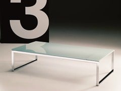 - Crystal coffee table for living room HIPHOP | Rectangular coffee table - Bontempi Casa