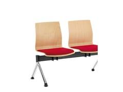 - Wooden beam seating Q-2   Beam seating - Sesta