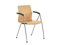 - Beech reception chair Q-2 | Beech chair - Sesta
