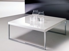 - Lacquered coffee table for living room PLAZA | Coffee table for living room - Bontempi Casa