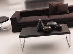 - Low coffee table for living room PLAZA | Rectangular coffee table - Bontempi Casa