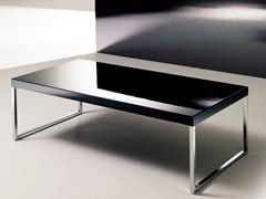 - Low coffee table for living room PLAZA | Lacquered coffee table - Bontempi Casa