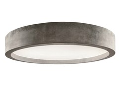 - Direct light cement ceiling light ZERO51   Ceiling light - LUCIFERO'S