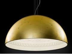 - Gold leaf pendant lamp CHIARODÌ | Pendant lamp - Metal Lux di Baccega R. & C.