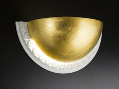 - Gold leaf wall light CHIARODÌ | Wall light - Metal Lux di Baccega R. & C.