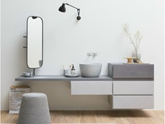- Wall-mounted vanity unit with drawers ESPERANTO | Wall-mounted vanity unit - Rexa Design