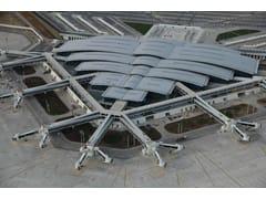 Sistema di copertura metallica standing seamRIVERCLACK® - ISCOM
