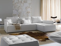 - Sofa with removable cover ANTARES | Corner sofa - Bontempi Casa