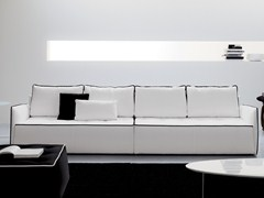 - Sofa with removable cover ANTARES | 4 seater sofa - Bontempi Casa