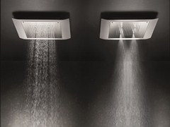 - Ceiling mounted 2-spray rain shower MACÒ | 2-spray overhead shower - GEDA