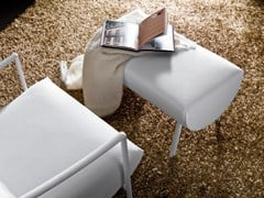 - Fabric footstool AMIT - Bontempi Casa