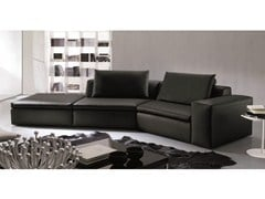 - Corner sofa BRYAN | Leather sofa - Bontempi Casa