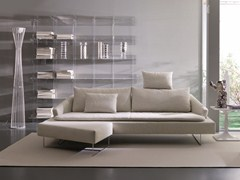 - Fabric sofa with headrest ITACA | 3 seater sofa - Bontempi Casa