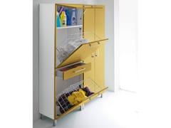 - Tall lacquered laundry room cabinet IDROBOX | Laundry room cabinet - Birex