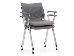 - Stackable waiting room chair with Armrests LAMIA EASY SOFT | Stackable waiting room chair - Diemmebi