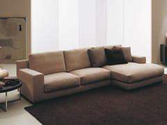 - Fabric sofa with removable cover MIDA | Corner sofa - Bontempi Casa