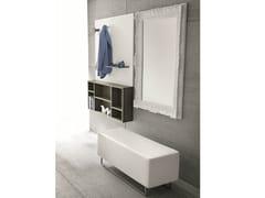 - Lacquered wall-mounted hallway unit CINQUANTA   Lacquered hallway unit - Birex