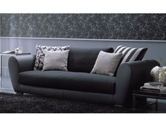 - 2 seater sofa TAYLOR | Leather sofa - Bontempi Casa