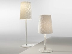 - Fluorescent fabric table lamp DAMASCO | Table lamp - AXO LIGHT