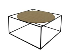 - Coffee table G3 | Wooden coffee table - ROCHE BOBOIS